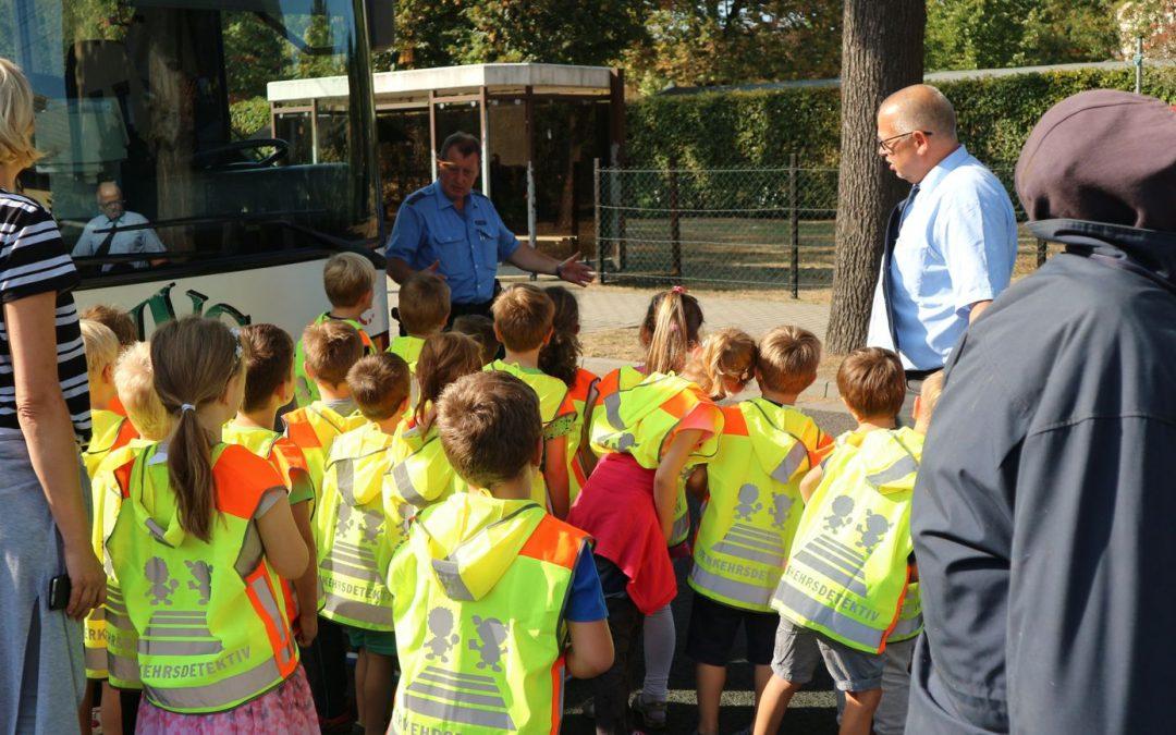 Busschule für unsere jüngsten Fahrgäste