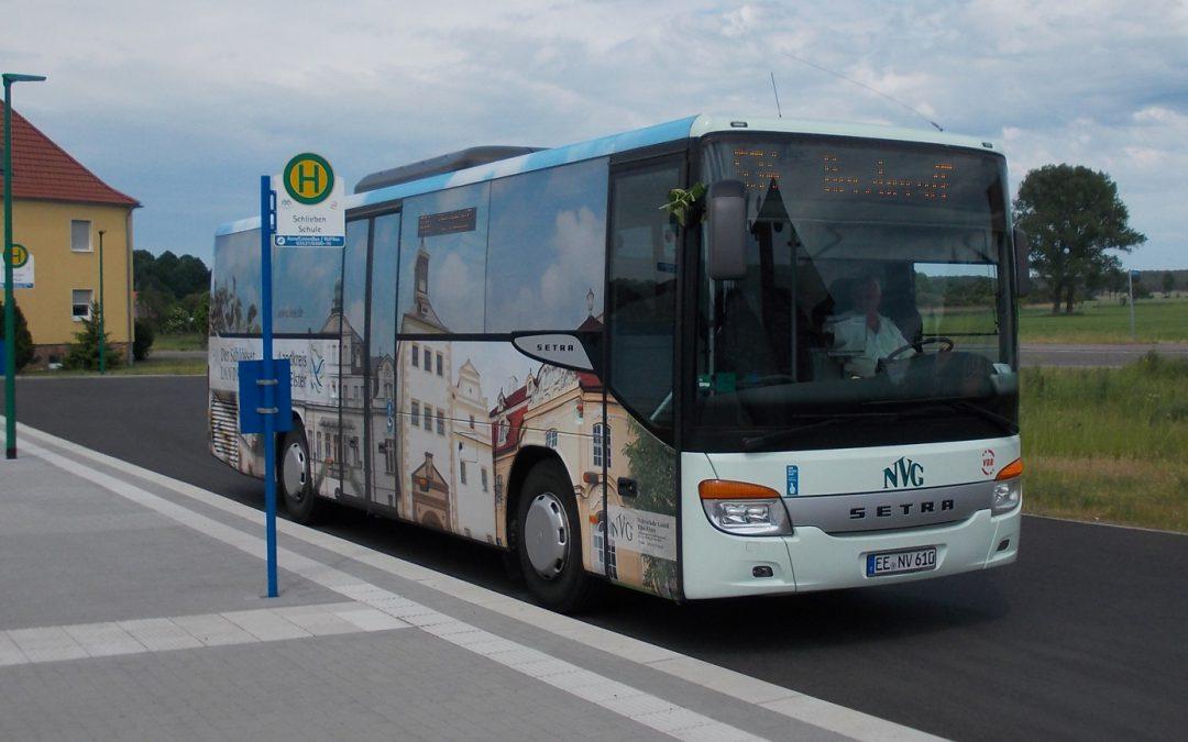 Linienbusverkehr zum Tag der Bundeswehr in Schlieben