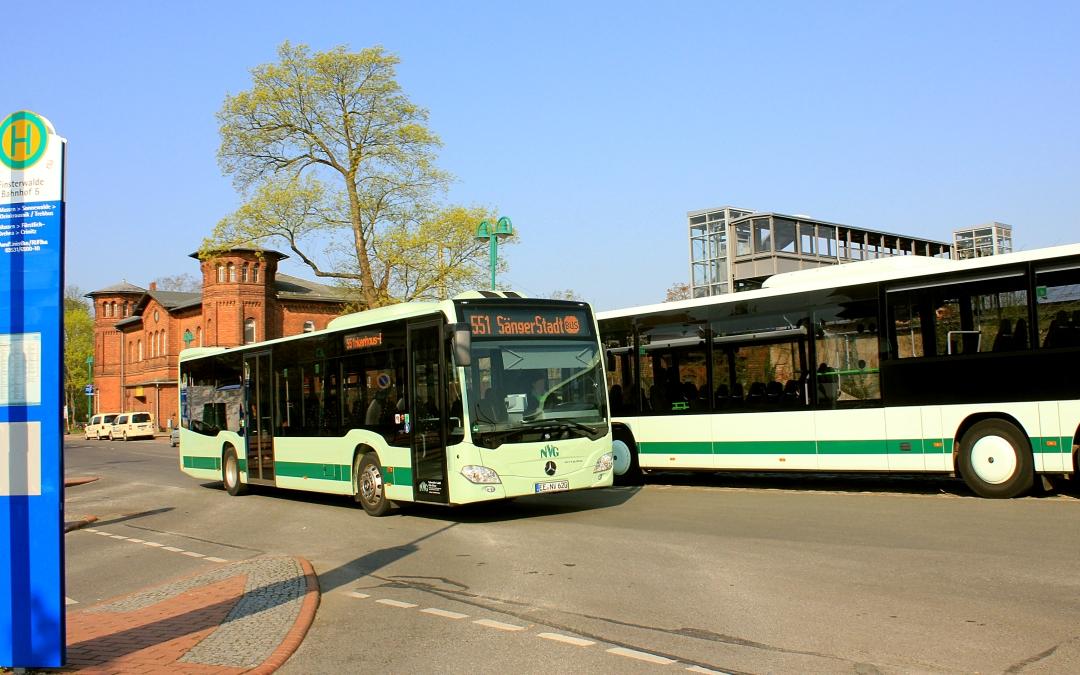 SängerStadtBus Finsterwalde – Änderung auf Linie 551 ab 01.12.2019