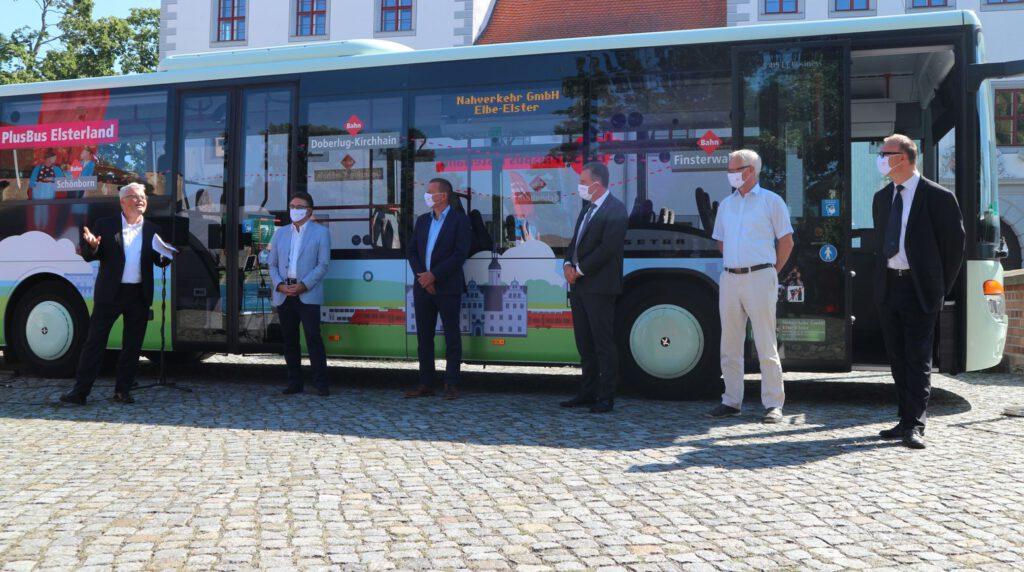 PlusBus Elsterland offiziell eingeweiht