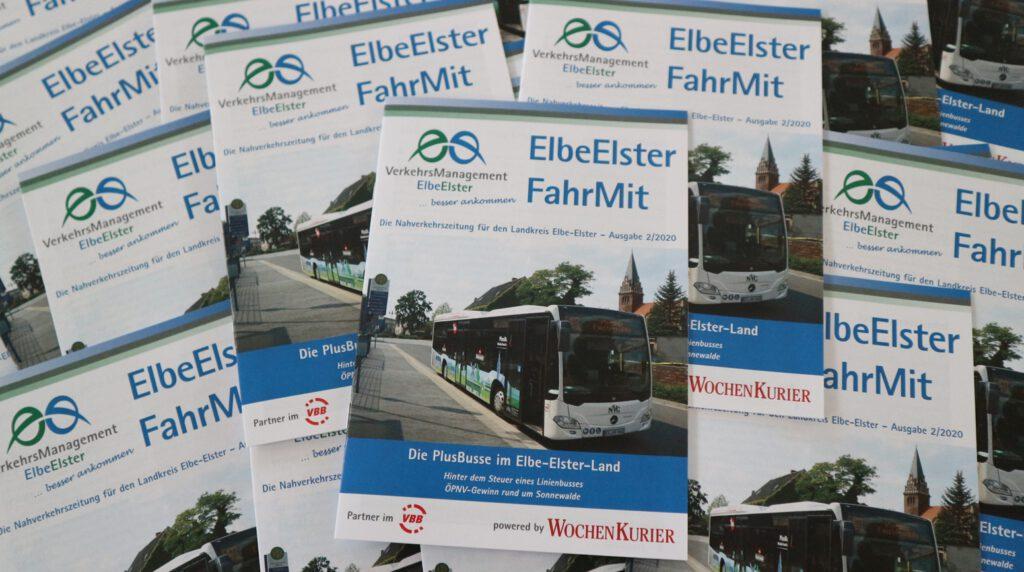 ElbeElster FahrMit – Ausgabe Nr. 2/2020 der Nahverkehrszeitung für Fahrgäste erschienen